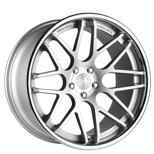 "19"" 20"" 22"" Vertini Wheels Magic Silver Machined Deep Concave Rims *Free Shipping"
