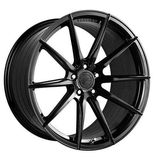 20 Vertini Wheels Rf 1 2 Gloss Black Rims