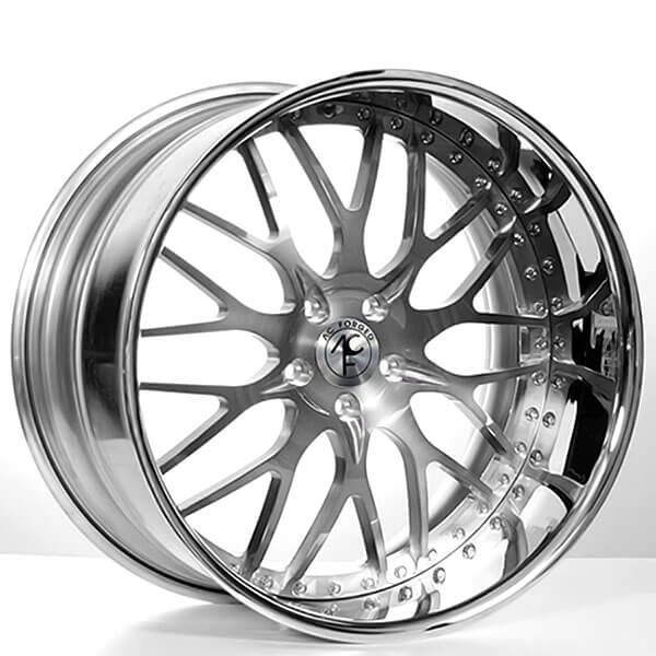 22 Quot Staggered Ac Forged Wheels Ac313 Gunmetal Face With