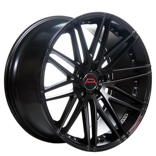 "20"" 22"" Autobahn Wheels Bohlen Black Rims *Lightweight (Reg $1999)"