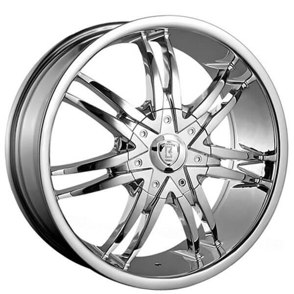 28 Borghini Wheels B14 Chrome Rims Bor002 4