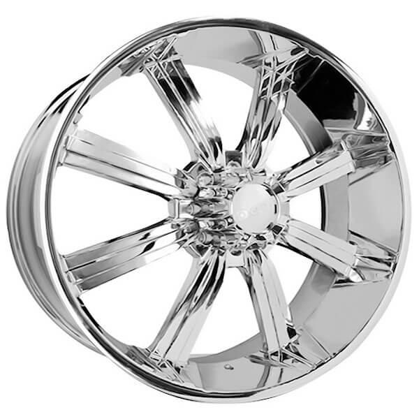 "28"" Dcenti Wheels DW903 Chrome Rims #DW026-4"