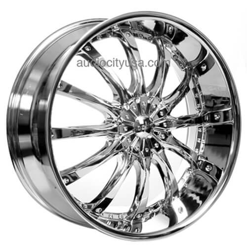 "22"" 24"" 26"" Dcenti Wheels DW8 Chrome Rims"