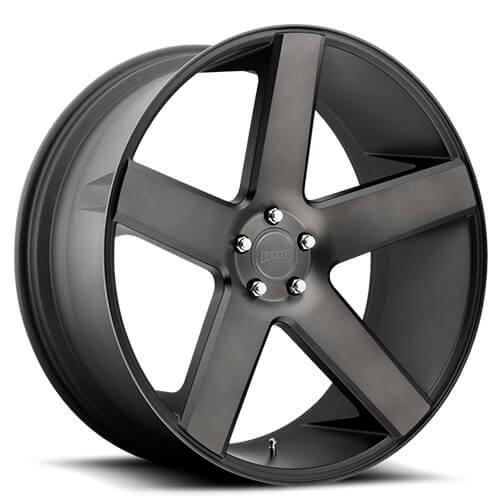 "20"" 22"" 24"" 26"" 28"" 30"" Dub Wheels Rims Baller S116 Black Machined *Free Shipping"
