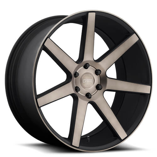 "20"" 22"" 24"" 26"" Dub Wheels Rims Future S127 Black Machined *Free Shipping"