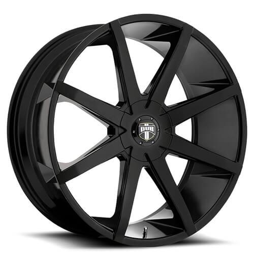 """20"""" 22"""" 24"""" 26"""" Dub Wheels Rims Push S110 Black *Free Shipping"""