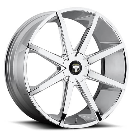 "20"" 22"" 24"" 26"" Dub Wheels Rims Push S111 Chrome *Free Shipping"