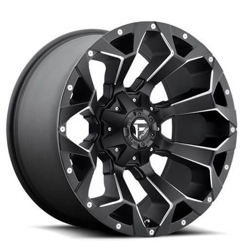 "20"" Fuel Wheels D546 Assault Black Rims"
