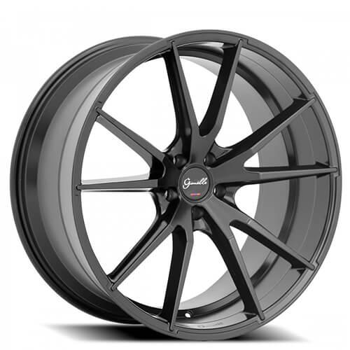 """20"""" 22"""" Giovanna-Gianelle Wheels Davalu Black Rims (Reg $1139)"""
