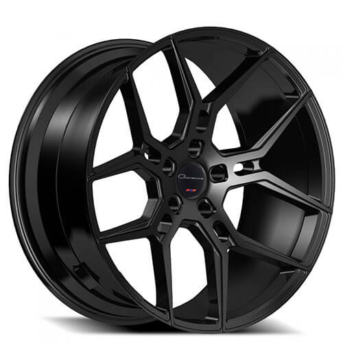 "26"" Giovanna Wheels Haleb Black Rims"