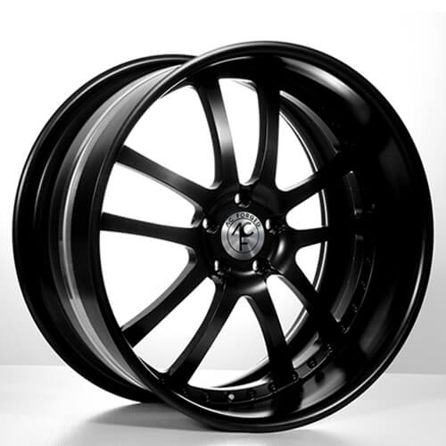 """19""""20""""22""""24""""AC Forged Wheels Rims 312 BK 3 piece"""