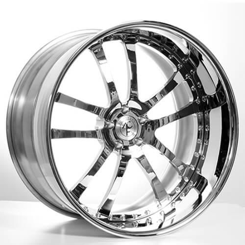 "19""20""22""24"" inch AC Forged Wheels Rims 312 Chrome 3 piece"