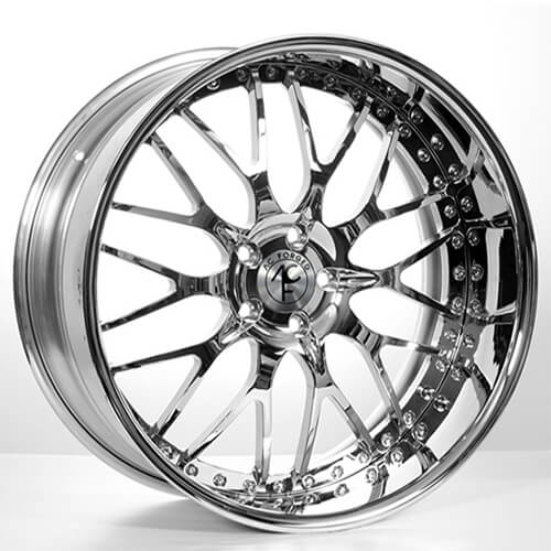 "20x9""/10.5"" Staggered AC Forged Wheels 313 Chrome 3 Piece Rims for BMW(Reg $3499)Ready to ship"