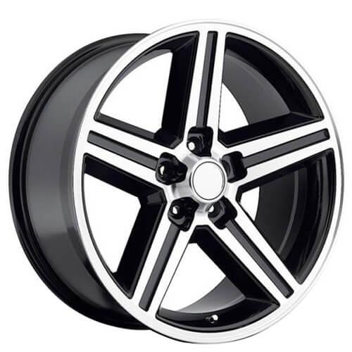 "22x8.5"" IROC Wheels Black Machine 5-lugs Rims Free Shipping"
