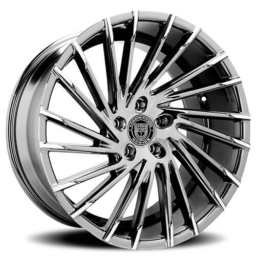 "22"" Lexani Wheels Wraith Dark Tint W Machined Tips Rims *Free Shipping"