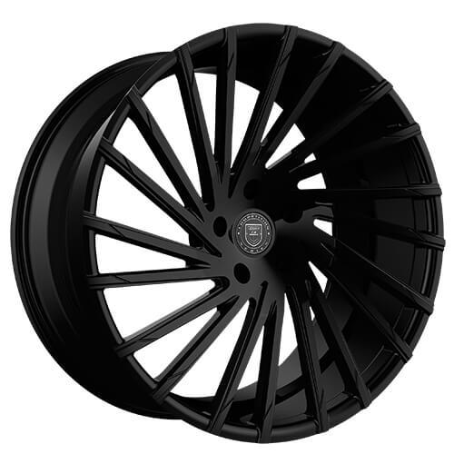 """20"""" 22"""" Lexani Wheels Wraith Gloss Black Rims"""