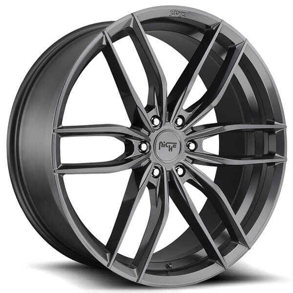 22 Quot Niche Wheels M204 Vosso Gloss Anthracite Rims Nc075 5