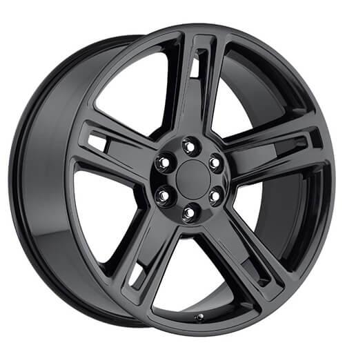 22 U0026quot  2015 Chevy Silverado 1500 Wheels Gloss Black Oem