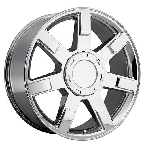 22 cadillac escalade wheels chrome oem replica rims oem048 1. Black Bedroom Furniture Sets. Home Design Ideas
