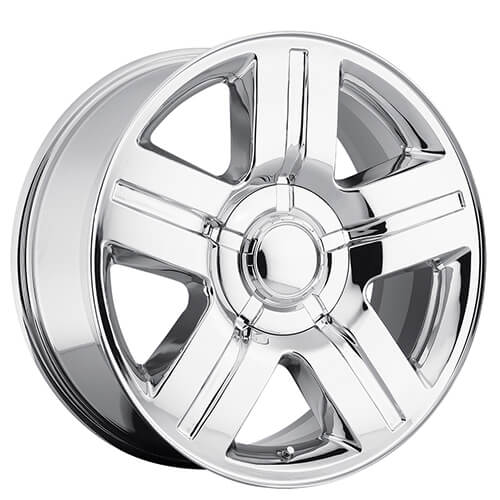 "20"" 22"" 24"" 26"" Chevy Silverado/Suburban Wheels Texas Edition Chrome OEM Replica Rims"