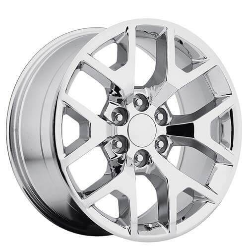 "20"" 2014 GMC Sierra Wheels Chrome OEM Replica Rims #OEM020-1"
