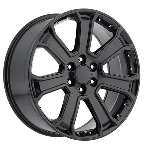 22 Quot 2015 Yukon Denali Wheels Gloss Black Oem Replica