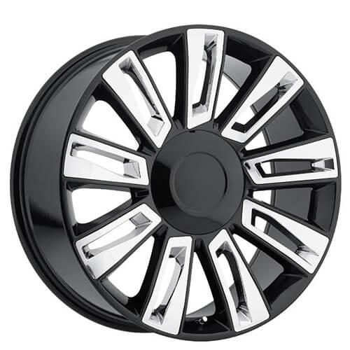 "22"" 2015 Cadillac Escalade Option3 Wheels Black With"