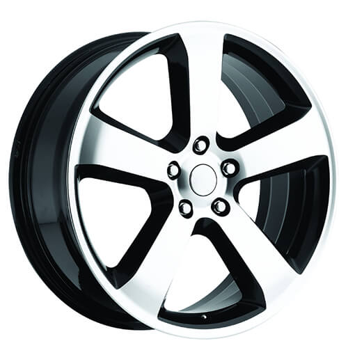 20 Quot Dodge Charger Srt8 Wheels Black Machined Oem Replica