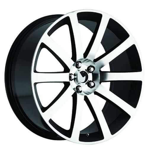 "300 Srt8 Meet Mr Bentley On: 20"" Chrysler 300C SRT8 Wheels Black Machined OEM Replica"