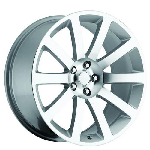 "300 Srt8 Meet Mr Bentley On: 20"" Chrysler 300C SRT8 Wheels Silver Machined OEM Replica"