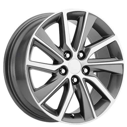 Oem Factory Wheels Style Machine Grey Rims Audiocity
