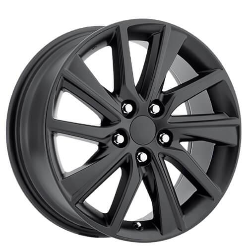 Oem Factory Wheels Style Satin Black Rims Audiocity