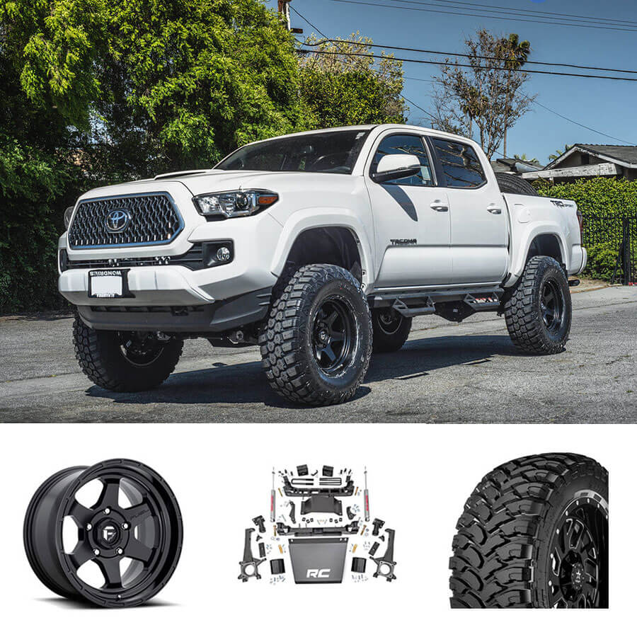 16 20 Toyota Tacoma 18x9 Wheels Tires Suspension Package Deal Pkg062