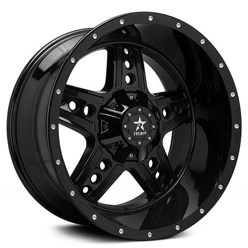 "20"" 22"" RBP Wheels Colt Gloss Black Rims *Free Shipping"