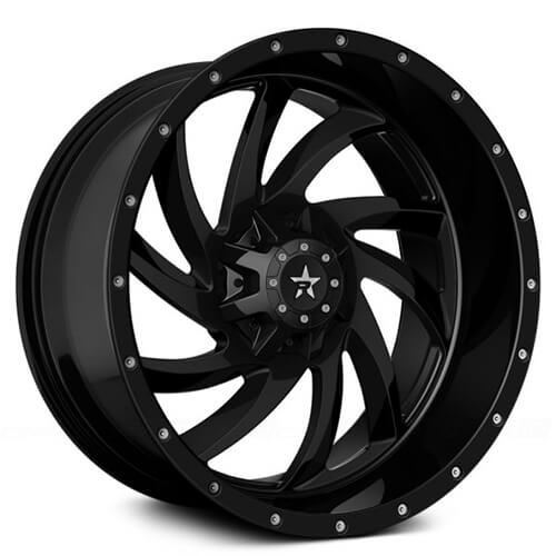 "20"" RBP Wheels HK-5 Gloss Black Rims *Free Shipping"