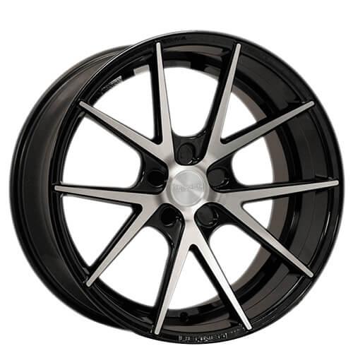 "20"" 21"" 22"" Rennen Wheels CRL55 Black Machined Rims"