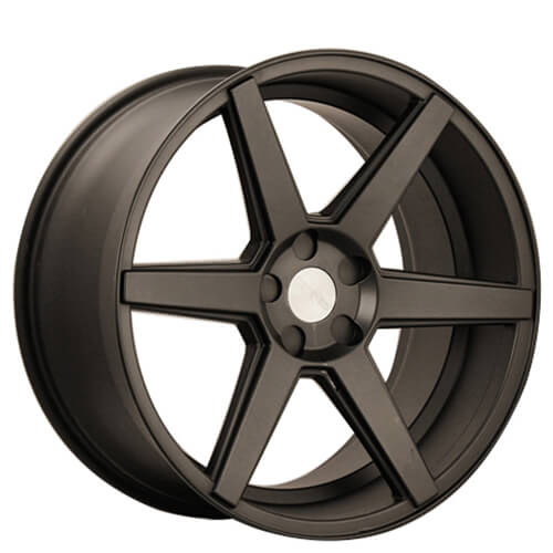 """20"""" 22"""" Rennen Wheels CRL60 Matte Black Rims"""
