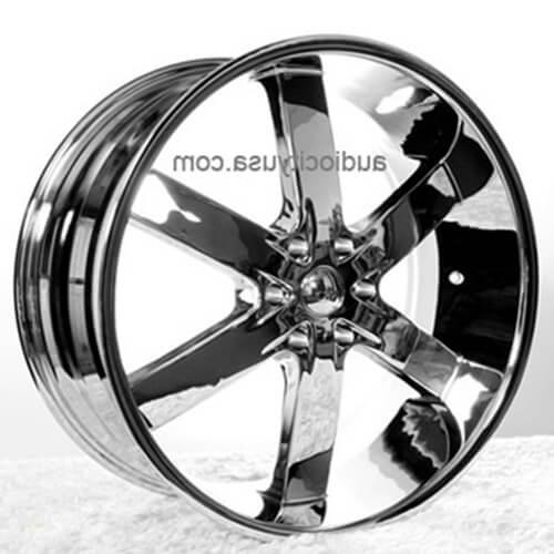 24 Quot U2 Wheels 55 Chrome Rims Ut018 2