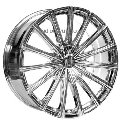 22 Quot Velocity Wheels Vw10 Chrome Rims Vc002 3