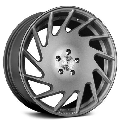 """20"""" Vossen Wheels VLE-1 Gloss Silver Rims (5x112, ET +30mm)"""