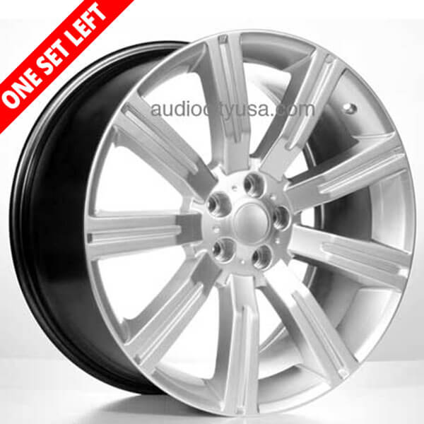 "22"" Range Rover Wheels 315 Silver Replica Rims"