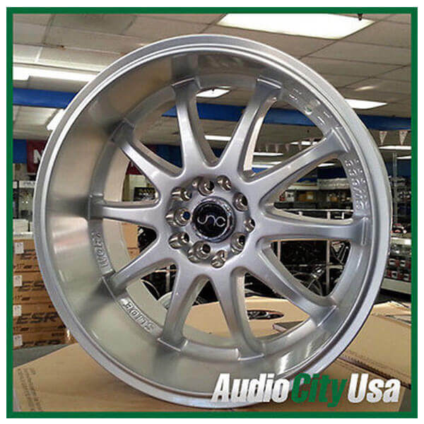 "18"" JNC Wheels 019 Silver Rims (5x100/5x114, ET +20mm)"