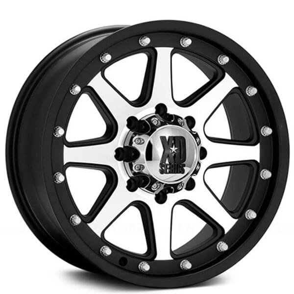 18 Xd Wheels Xd798 Addict Matte Black Machined Off Road Rims Xd034 3