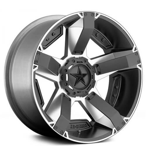 """17"""" 18"""" 20"""" 22"""" XD Wheels XD811 Rockstar II Black Machined Rims"""