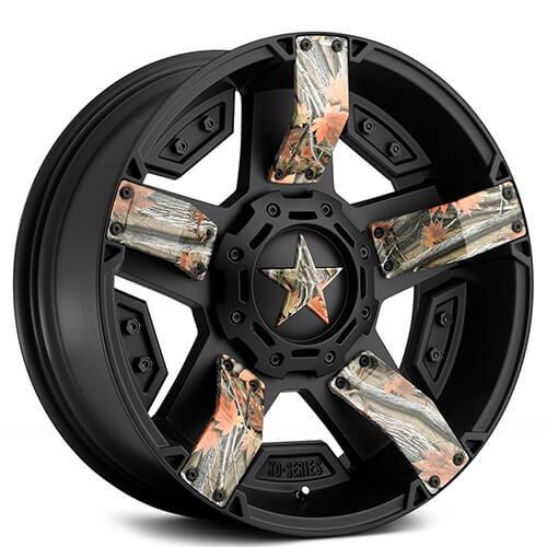 "17"" 18"" 20"" 22"" XD Wheels XD811 Rockstar II Satin Black W/ Custom Graphic Available"
