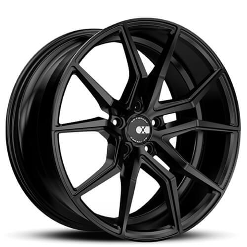 "19"" 20"" 21"" 22"" XO Wheels X253 Verona Matte Black Rims *Staggered"