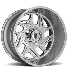 """22"""" American Truxx Wheels AT-1900 Sweep Brushed Off-Road Rims"""