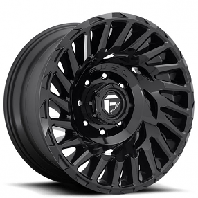"20"" Fuel Wheels D682 Cyclone Gloss Black Off-Road Rims"