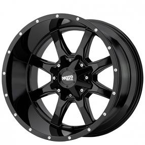 "20"" Moto Metal Wheels MO970 Gloss Black Off-Road Rims"