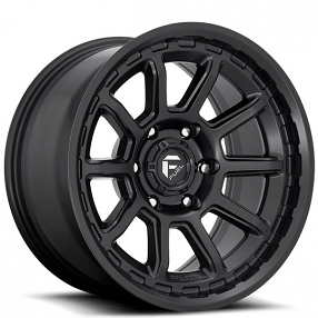 "20"" Fuel Wheels D689 Torque Matte Black Off-Road Rims"